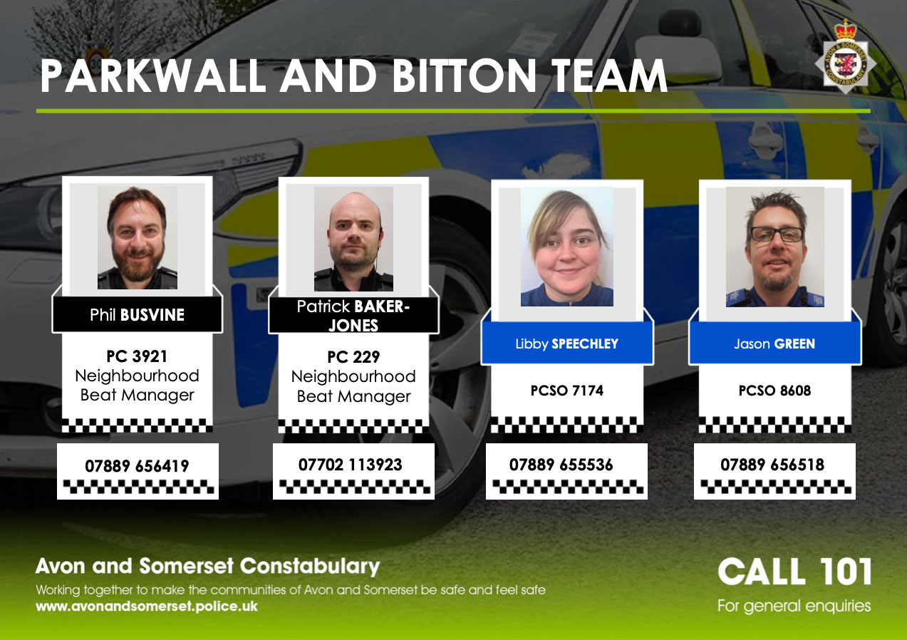 Parkwall And Bitton Team